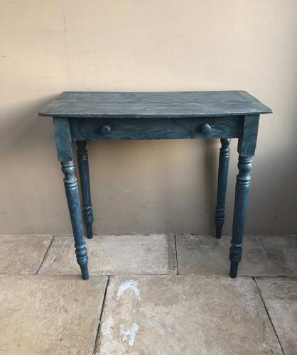 Victorian Norfolk Pine Side Table