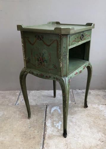Early 20th Century Side Table in Original Paint.