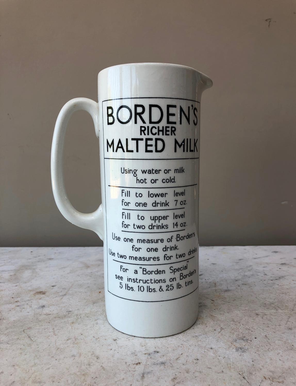 Edwardian Borden's Richer Malted Milk Mixer - Superb Condition