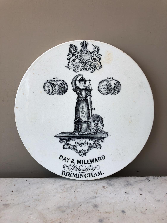 Edwardian Scale Plate - Day & Millward