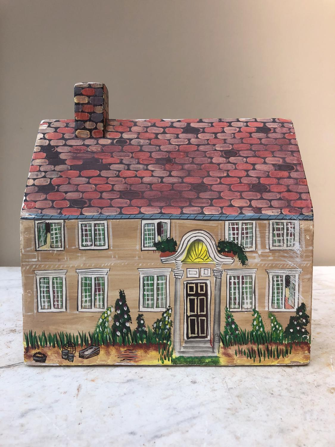 1940s Money Box - Wonderful Painted House