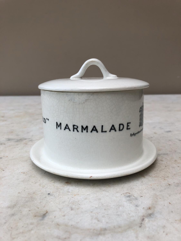 Edwardian Maling Frank Coopers Marmalade Dish