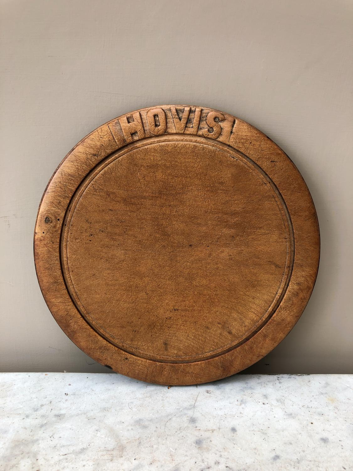 Early 20th Century Advertising Bread Board - Hovis