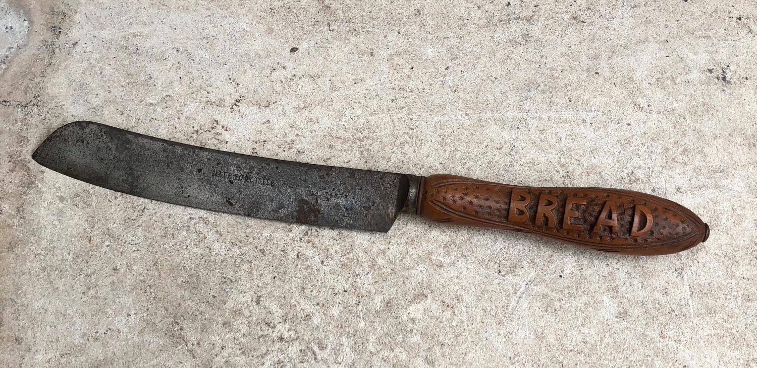 Victorian Treen Bread Knife
