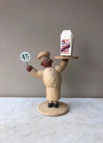 Rare 1920s Marsh & Baxter Ltd's Shop Counter Advertising Man