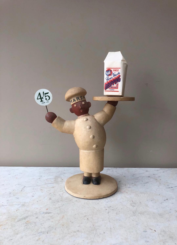 Rare 1920s Marsh & Baxter Ltd's Shop Counter Advertising Man