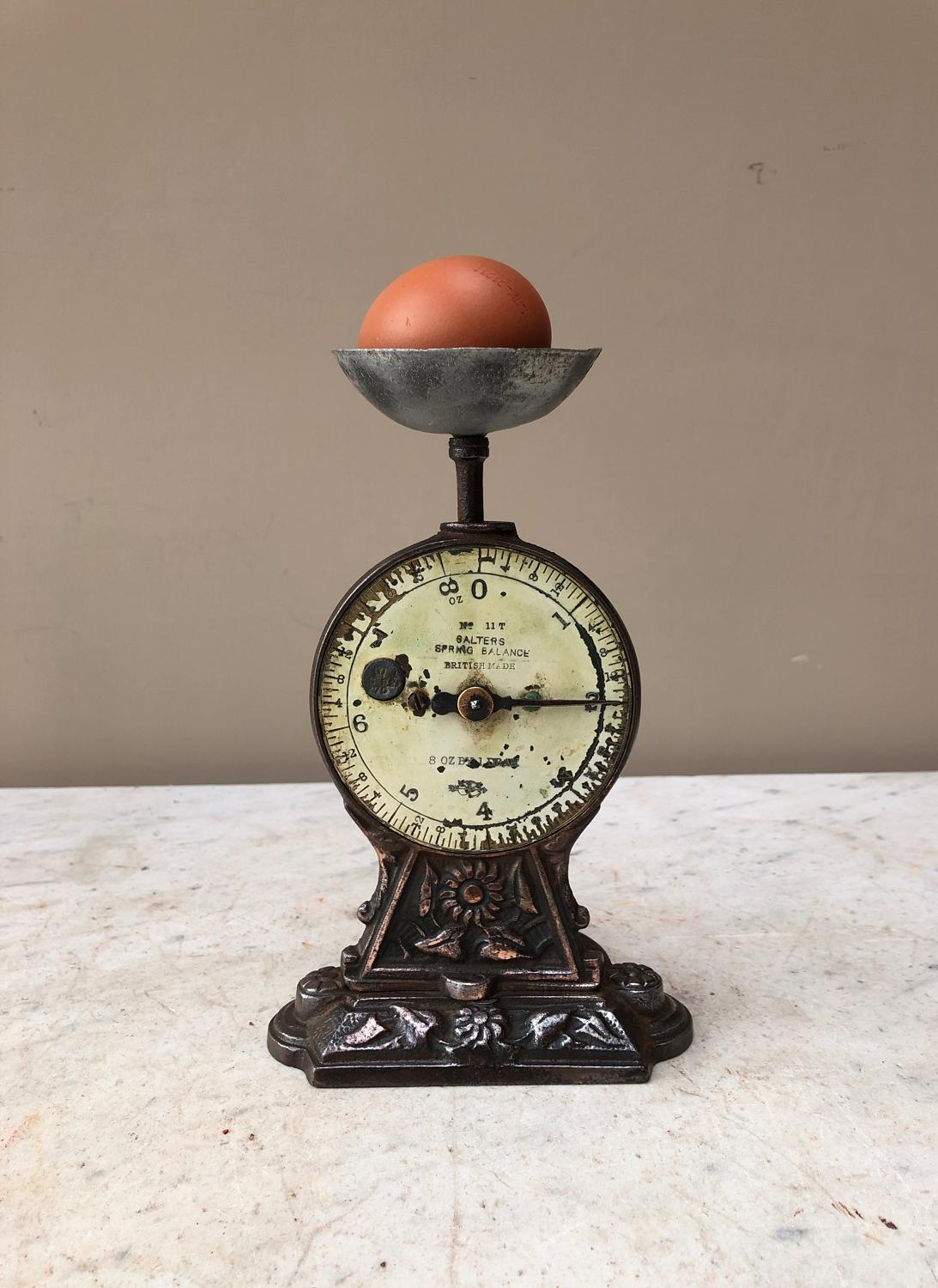 Early 20th Century Salter Egg Scales