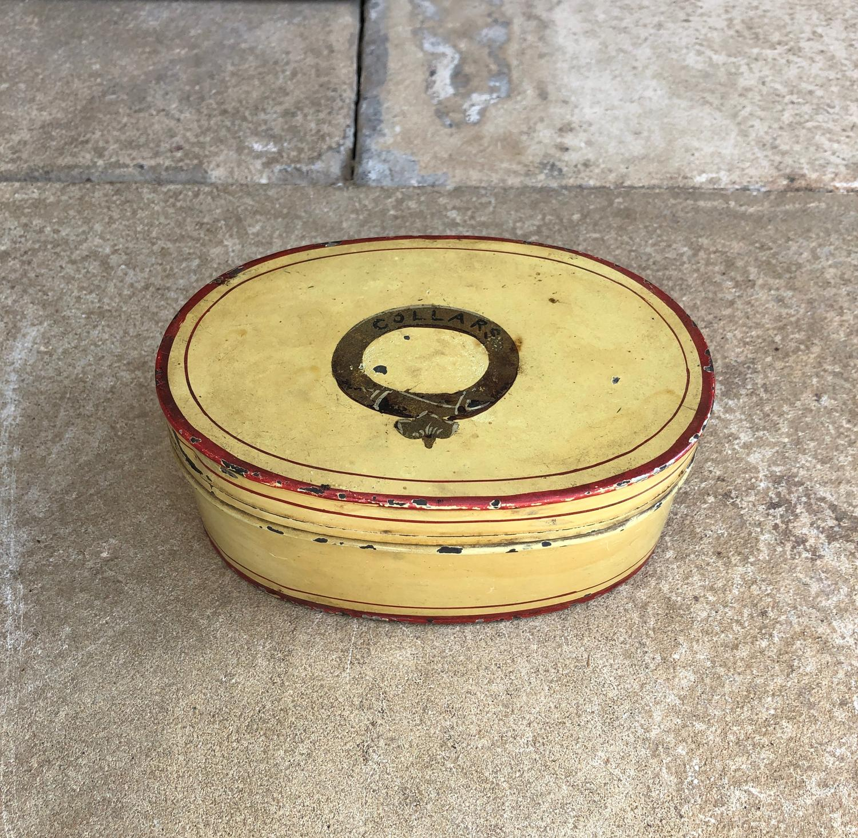 Georgian Toleware Collars Box
