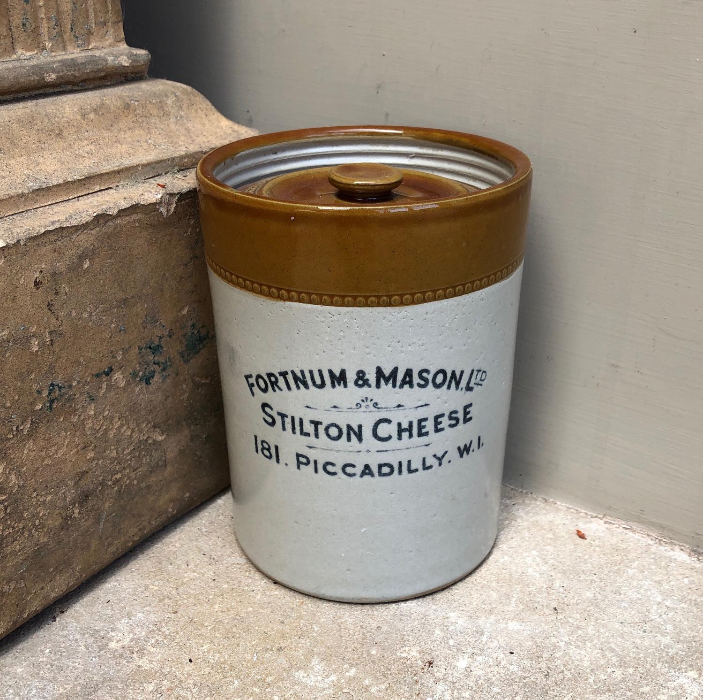 Excellent Condition Early 20thC Fortnum & Mason Stilton Pot