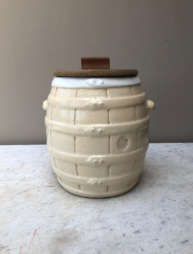 Rare Small Size - Late Victorian Butchers Pickling Barrel