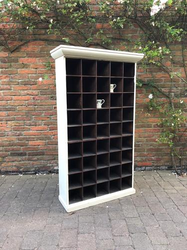 Victorian Pine Set of 45 Pigeon Holes
