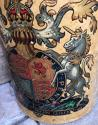 Huge Victorian Stoneware Flagon with Royal Crest - picture 3