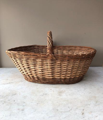 Huge Antique Basket