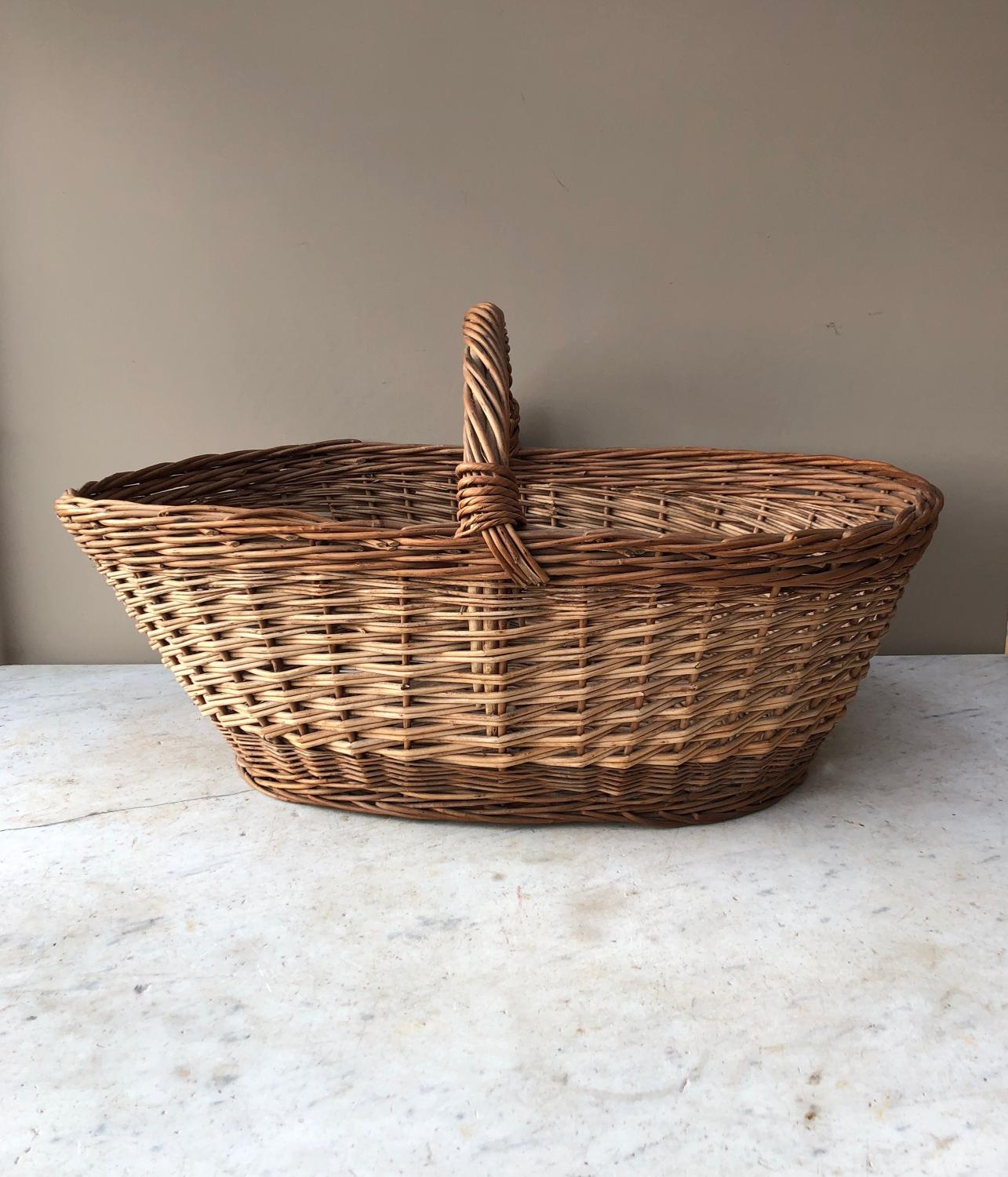 Huge Antique Basket
