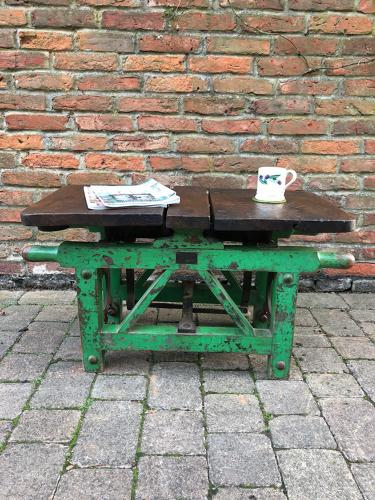 Wonderful Antique Farm Scales - Coffee Table - Side Table - Seat