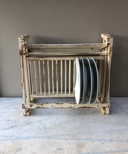1940s Plate Rack with Cup & Saucer Rack