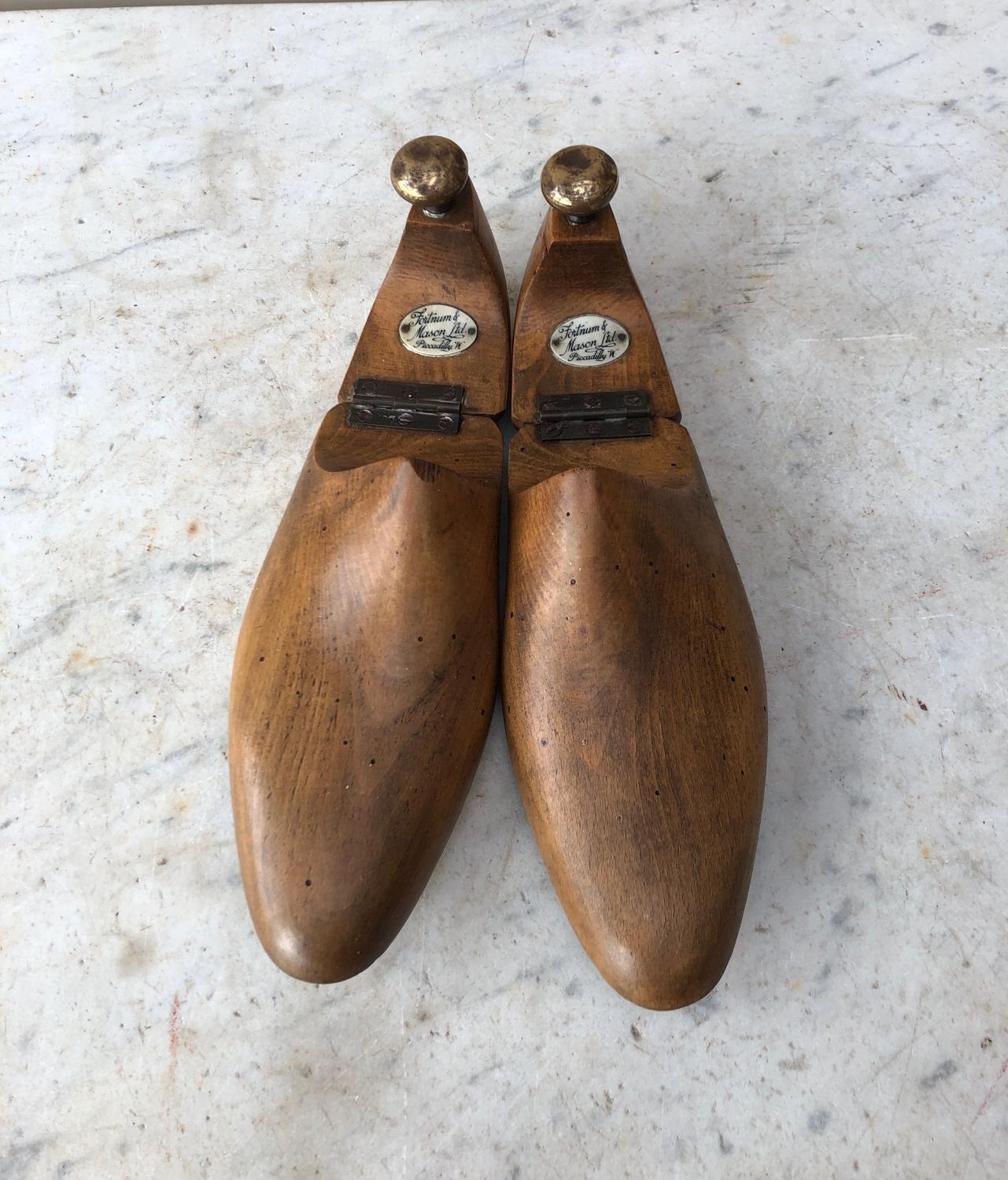Early 20thC Shoe Trees - Fortnum & Mason