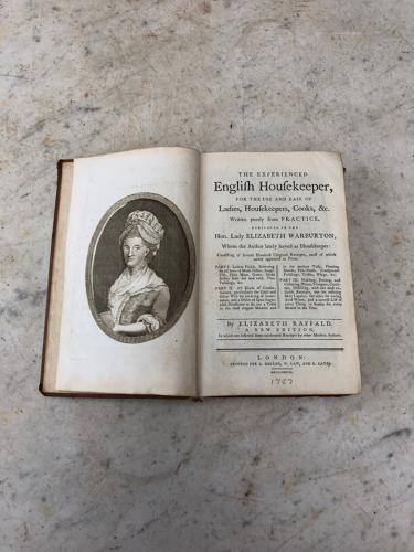 Rare 18thC Cookery Book - The English Housekeeper 1787