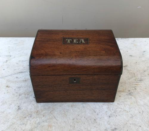 Early 20th Century Tea Caddy - Complete