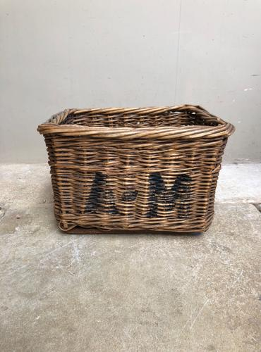 Edwardian Small Grocers Basket