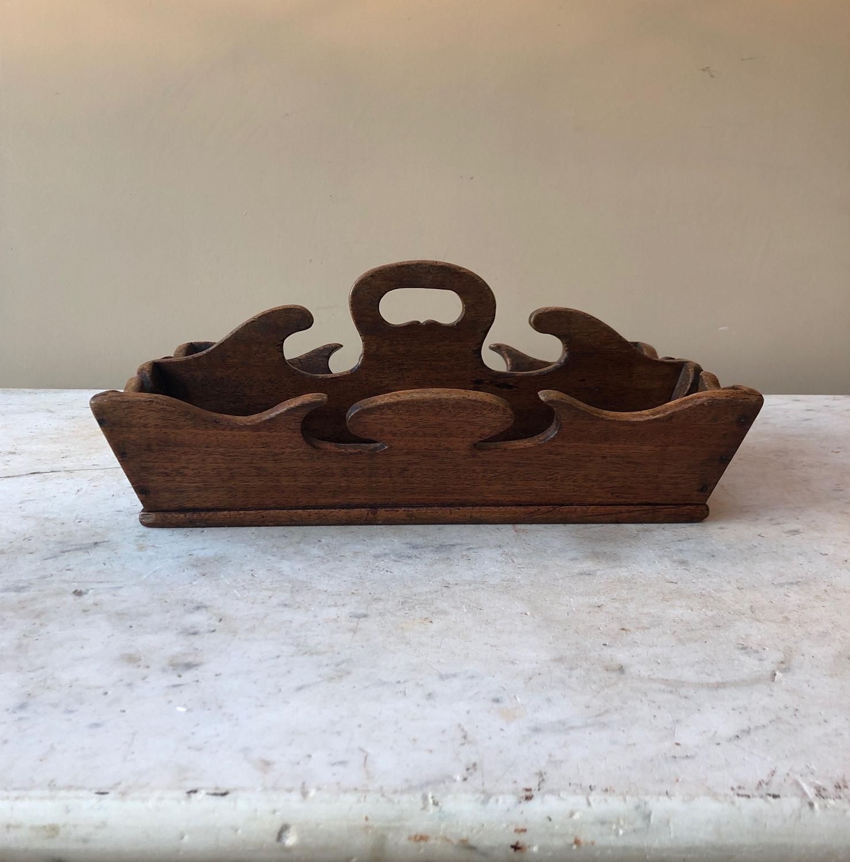 Wonderful Shape Victorian Cutlery Tray