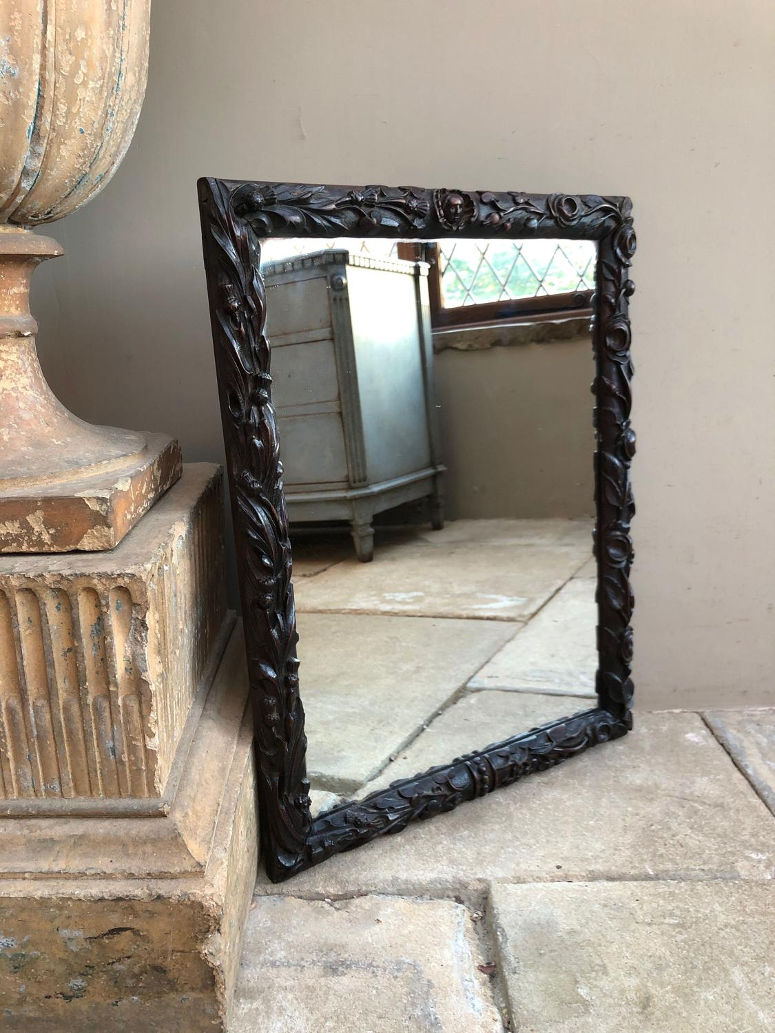 Quality 18th Century Carved Frame - Mary Queen of Scots