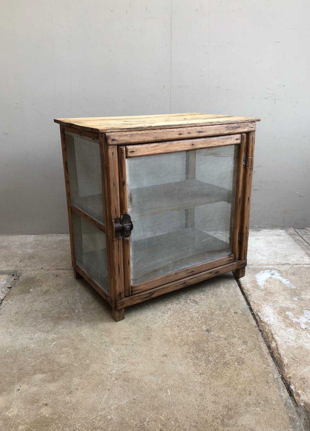 Mid 20th Century Cheese or Food Safe - Mesh Intact