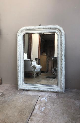 Pretty Victorian Mirror with Original Glass & Backing Board