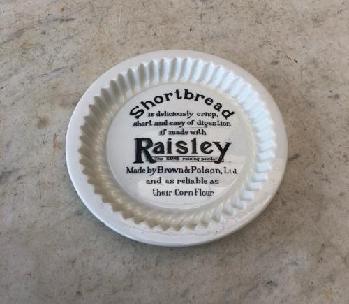 1930s Brown & Polsons Raisley Raising Powder Advertising Mould