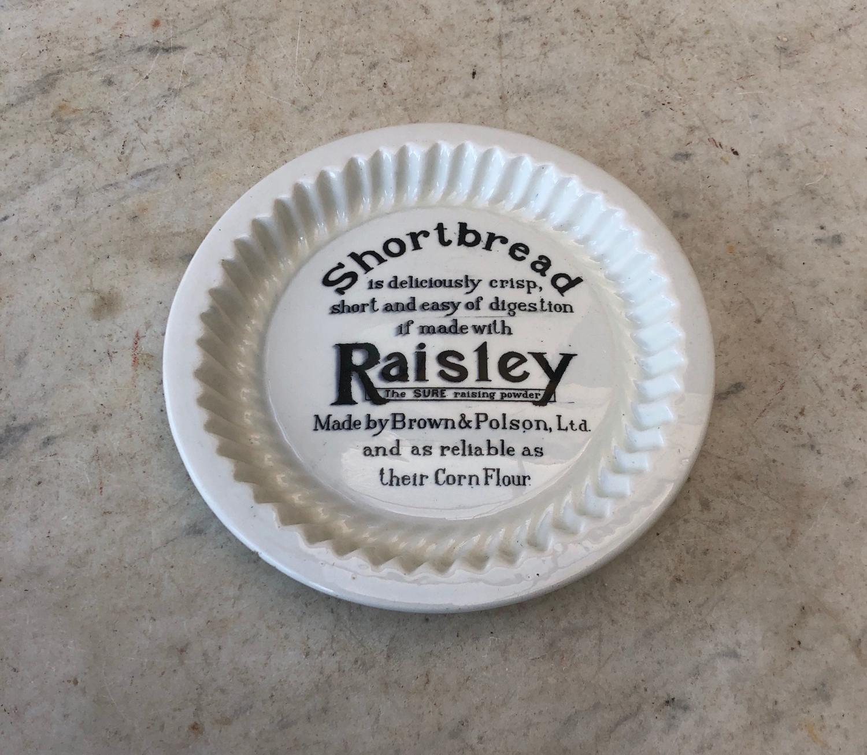 1930s Brown & Polsons Raisley Raising Powder Advertising Mould
