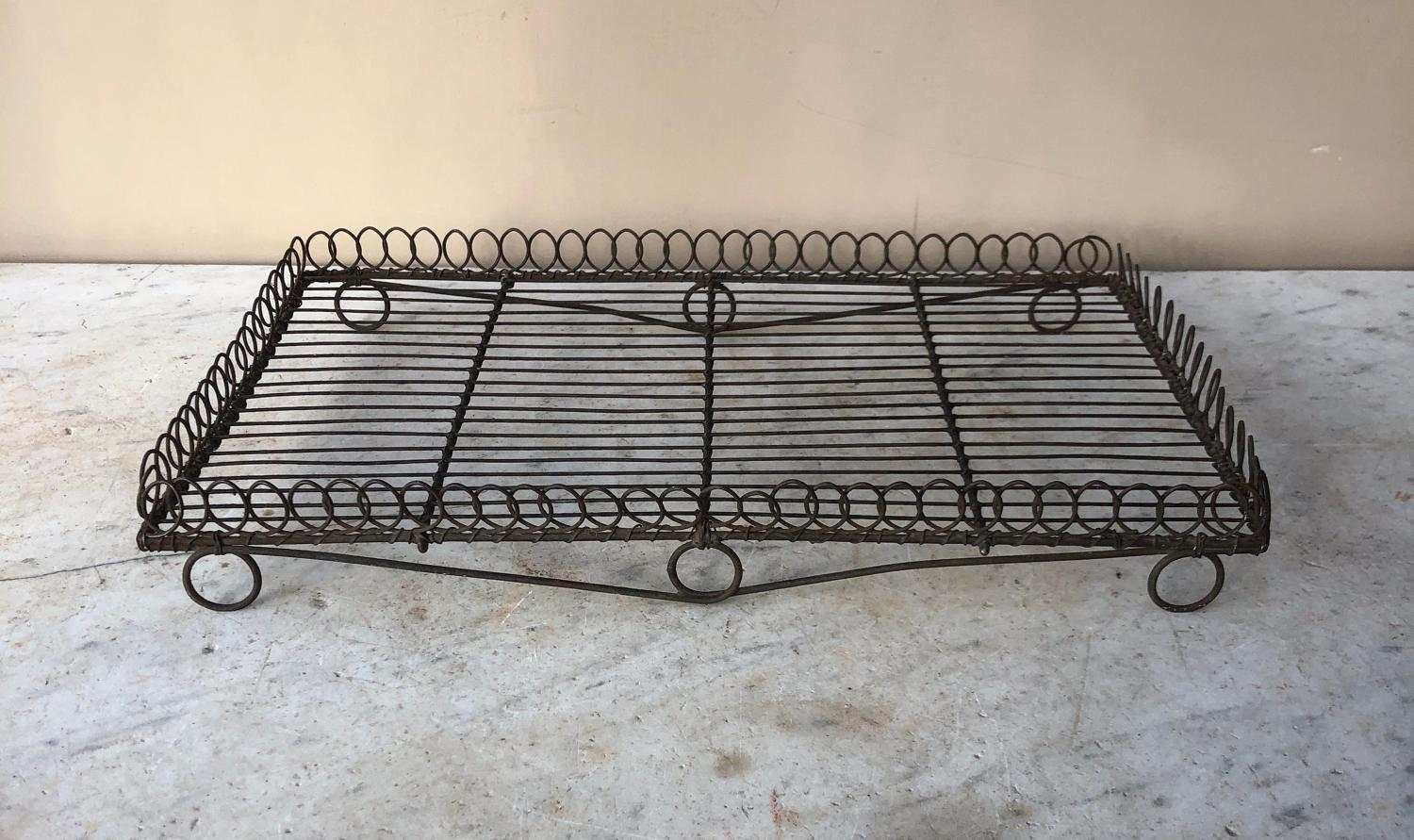 Excellent Victorian Wirework Looptop Cake Cooling Rack Tray