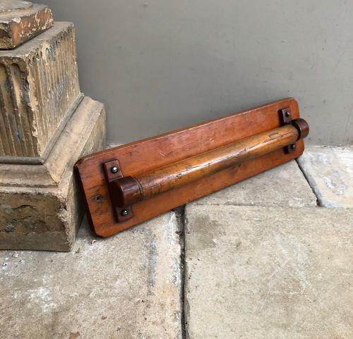 Late Victorian Country House Towel Rail - Superb Colour