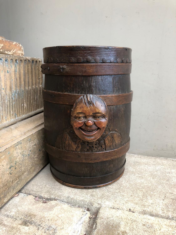 Fantastic Late Victorian Wooden Schools Tuck Shop Gingerbread Tub