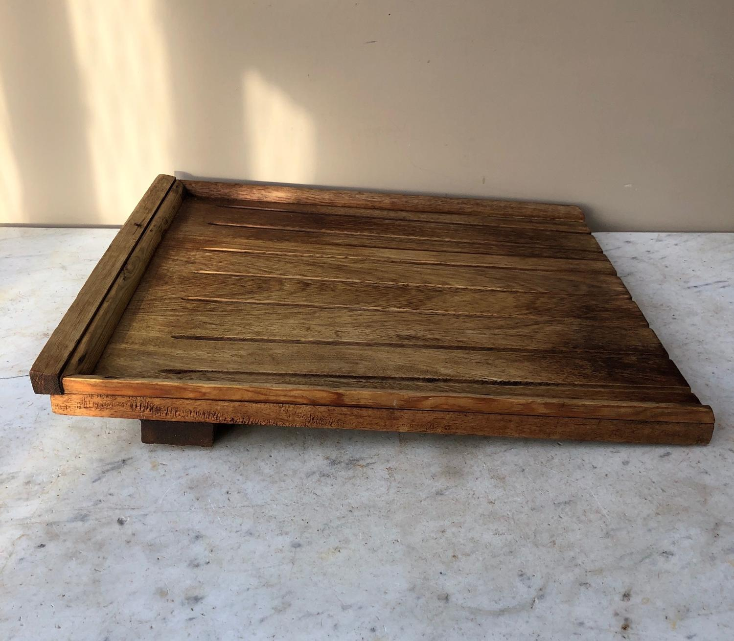 Antique Oak Draining Board - Ready to Use