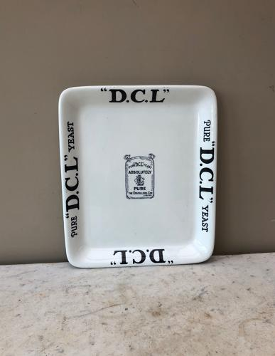 Edwardian Shops Advertising Display Plate - DCL Yeast
