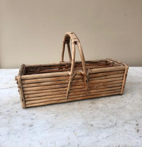 Early 20th Century Wooden Basket - Trug