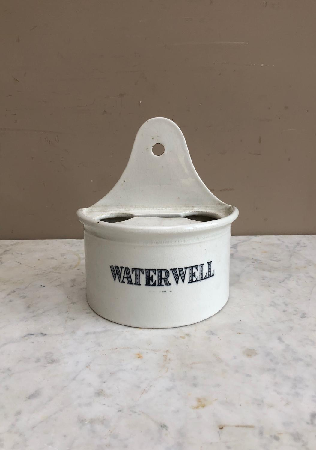 Edwardian White Ironstone Waterwell