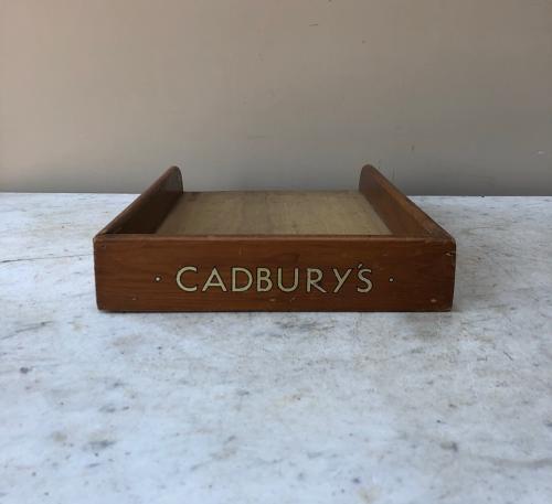 Early 20th Century Shops Advertising Display Tray - Cadburys