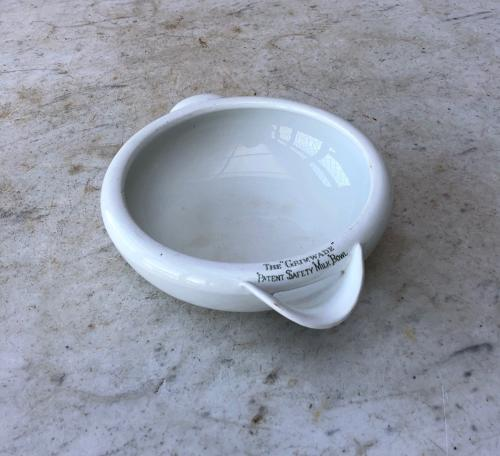Early 20th Century Grimwades Safety Milk Bowl - Rarer Small Size