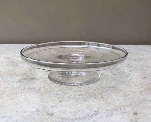 Late Victorian Shops Glass Advertising Pedestal - Stamped Wright & Son