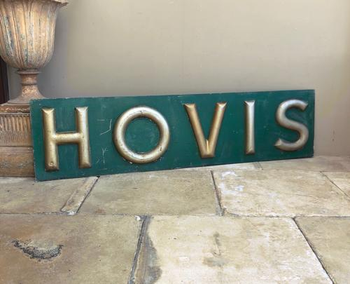 Early 20th Century Bakers Hovis Sign - Completely Original