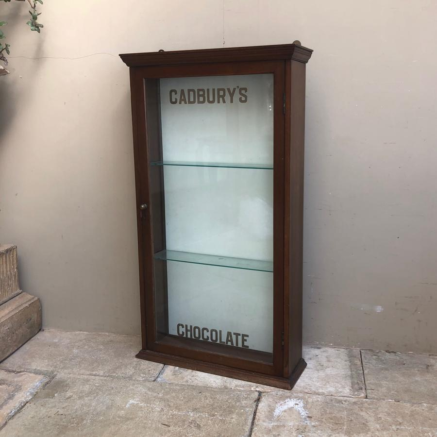 Rare Wall Hung 1940s Shops Cadburys Chocolate Advertising Cupboard