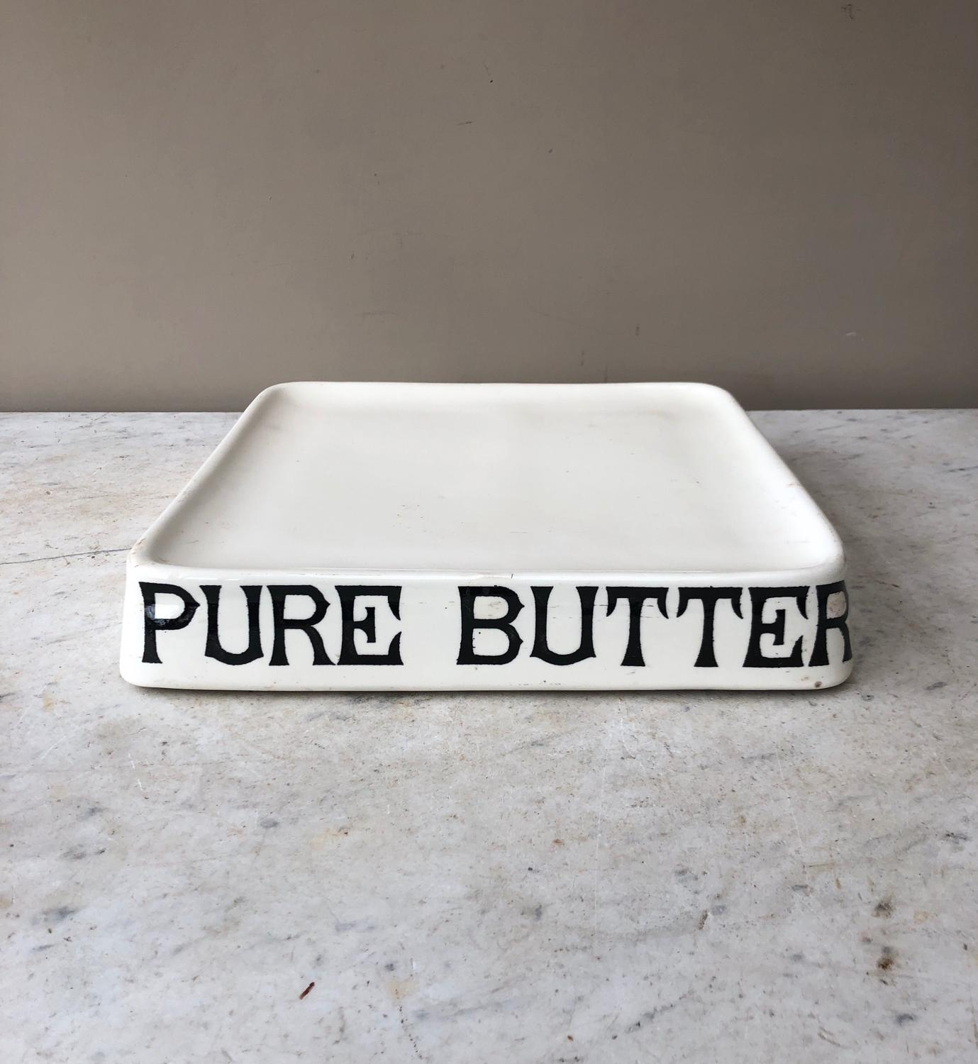 Edwardian White Ironstone Pure Butter Slab - Parnall Slab