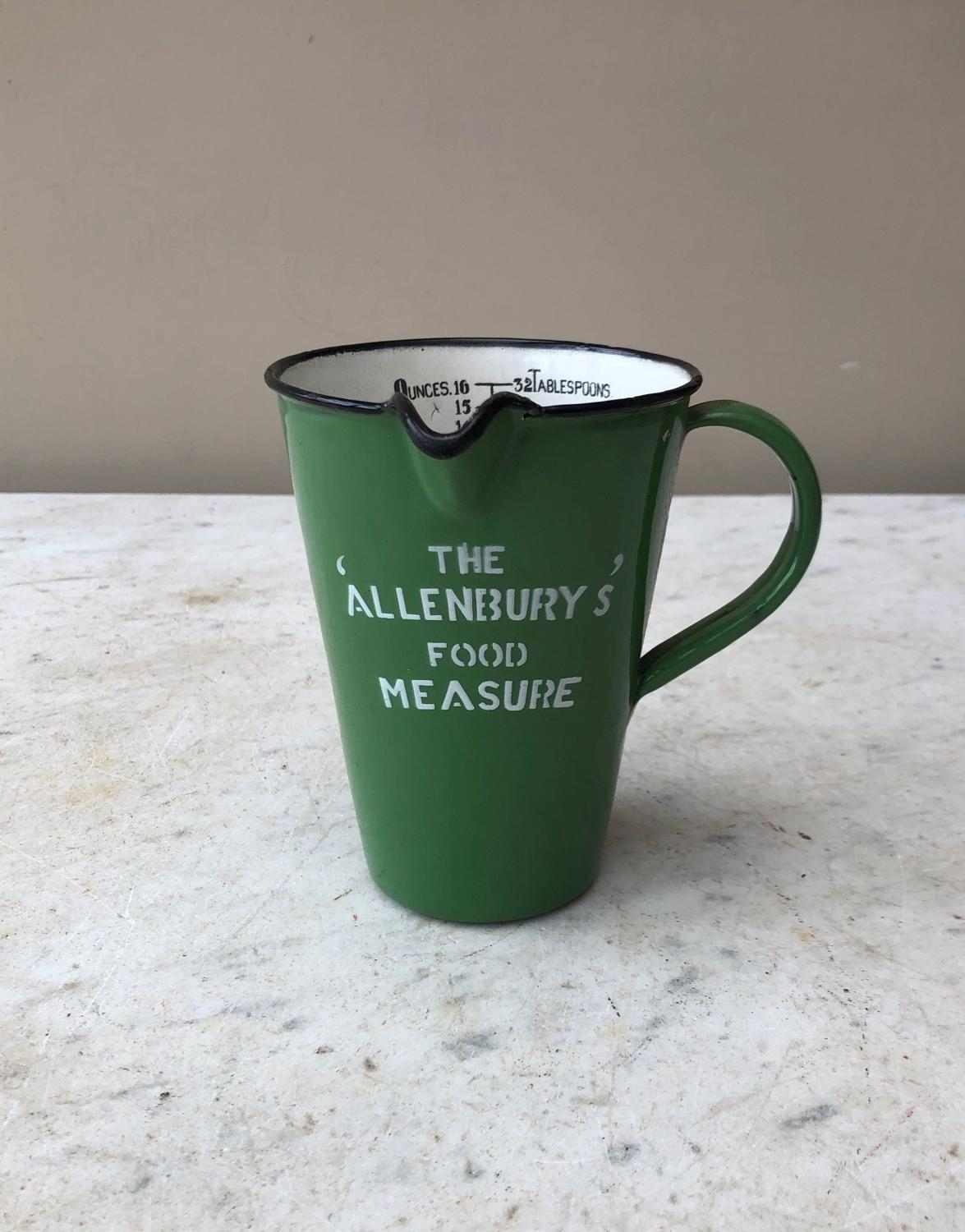 Excellent Condition Early 20th Century Allenburys Food Measure