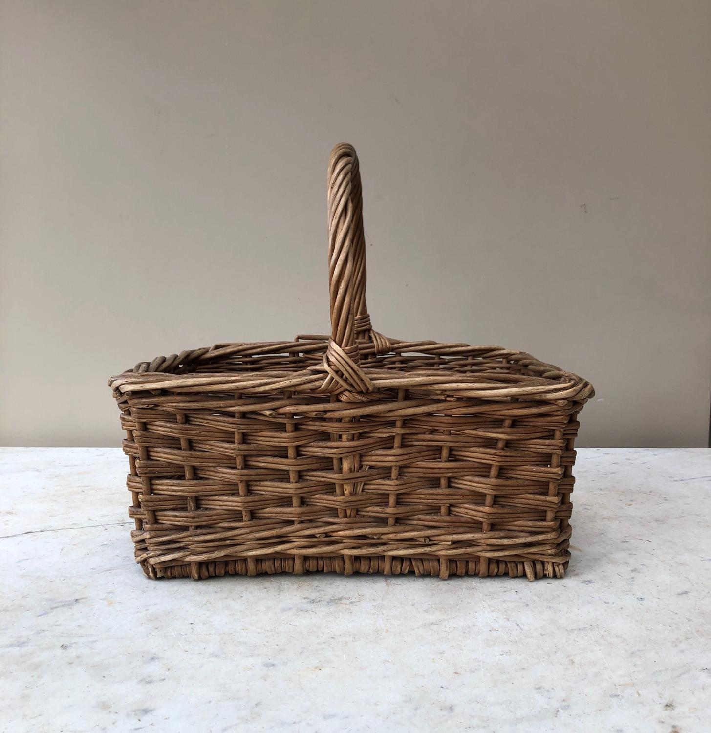 Early 20th Century Small Bakers Basket - Exc Condition