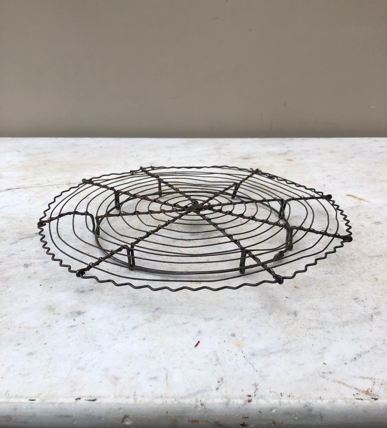 Early 20th Century Ornate Wire Work Cake Cooling Rack