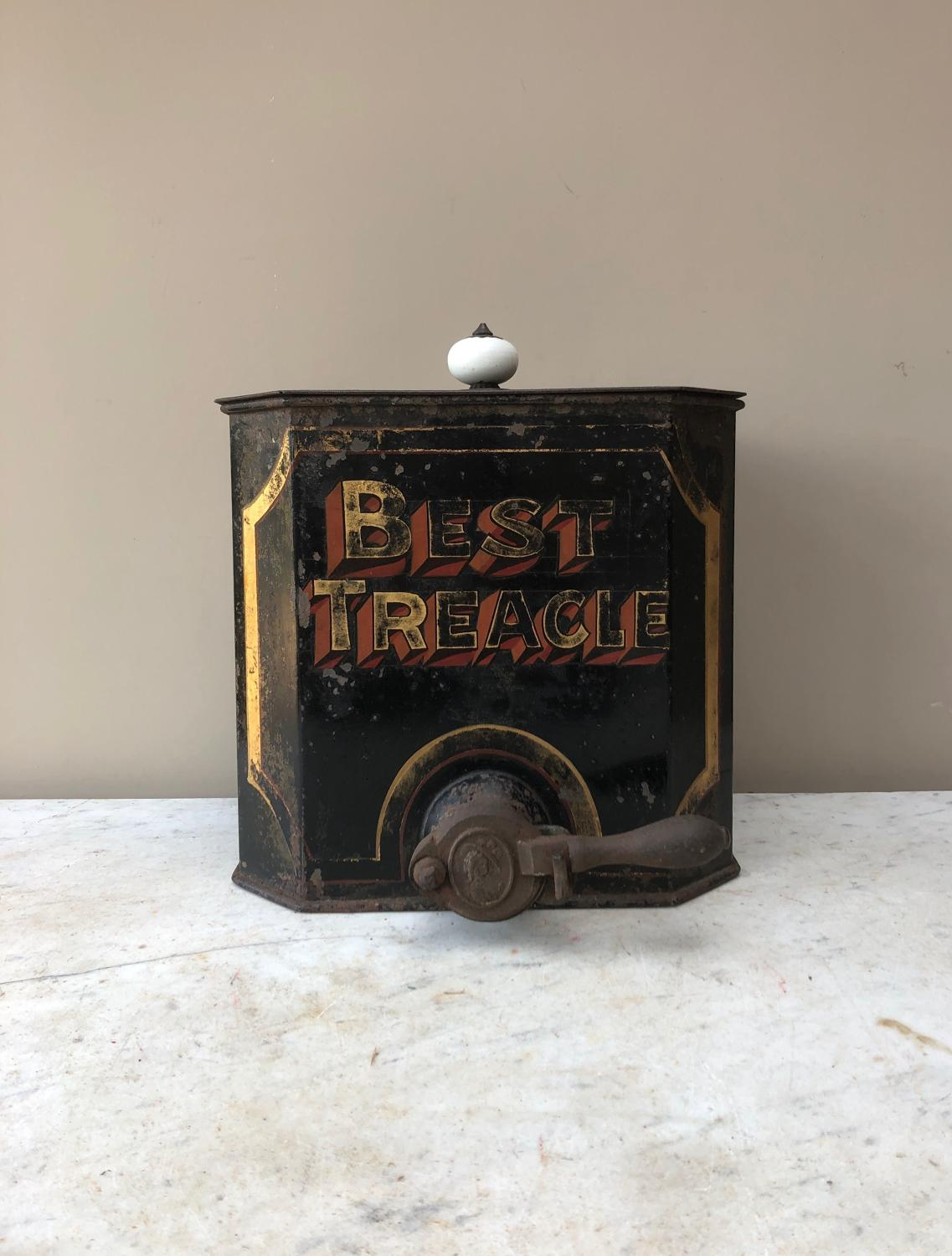 Victorian Shops Toleware Treacle Dispenser - Best Treacle