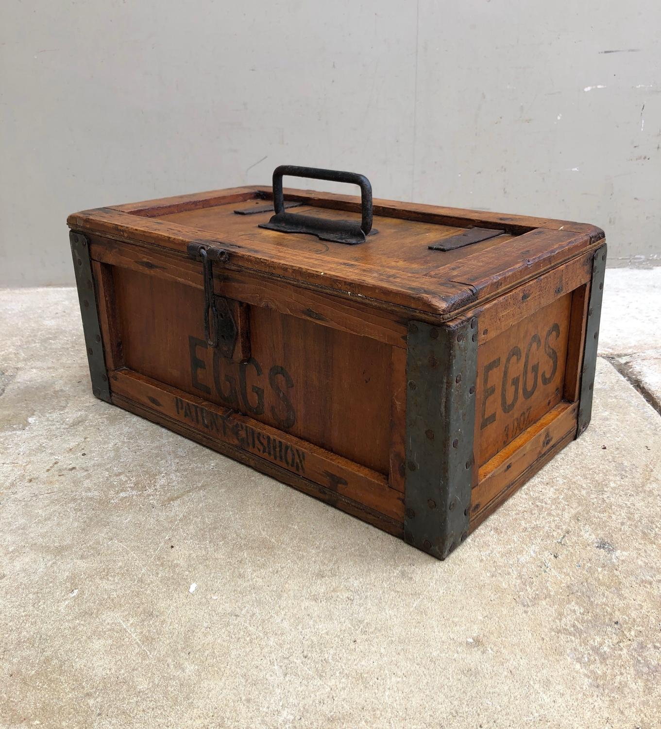 Early 20th Century Travelling Eggs Box - Dairy Outfit Co Ltd