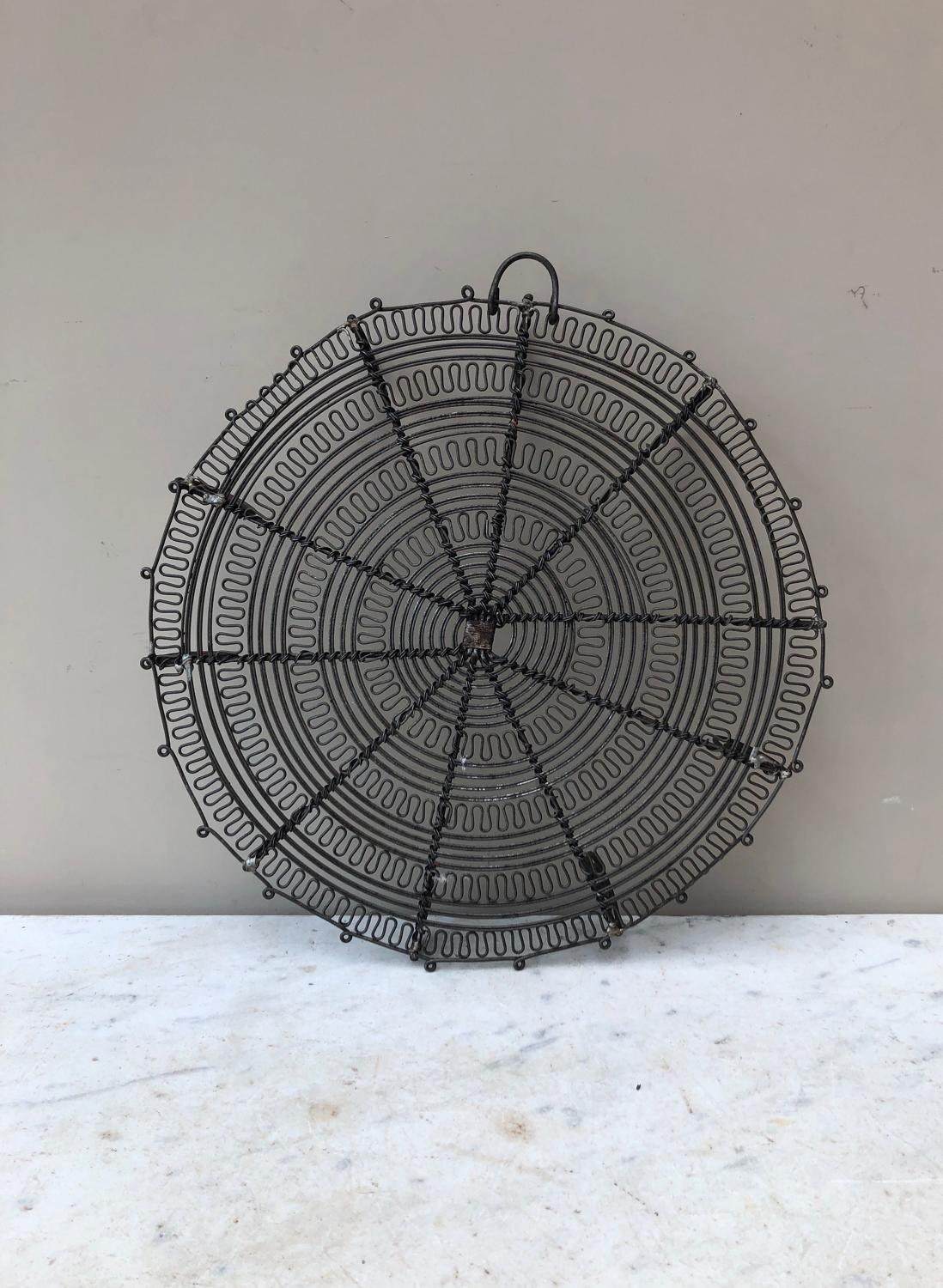 Superb Early 20thC Ornate Wirework Cake Cooling Rack