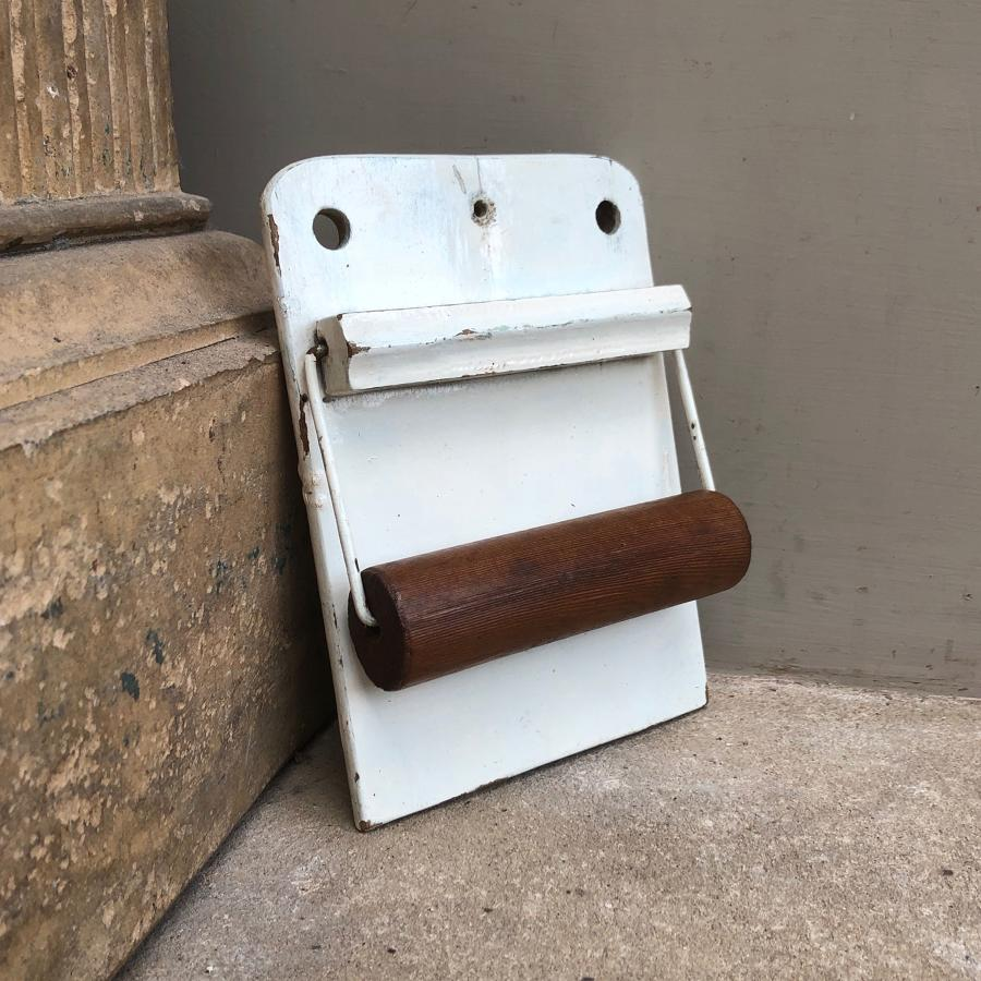 Early 20th Century Wall Hung Loo Roll Holder